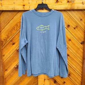 NWOT Life Is Good Long Sleeve Shirt